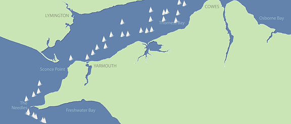 Round the Island Race - Tracking information for Android users